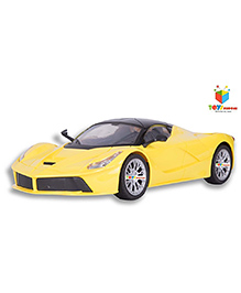 Toys Bhoomi Ultra Modern Ferrari Remote Controlled Car - Yellow