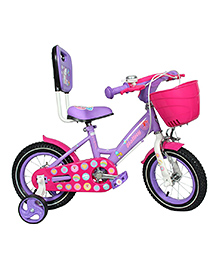 Hollicy Cindy Kids Bicycle Purple Pink - 12 Inch
