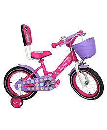 Hollicy Cindy Kids Bicycle Pink Purple - 14 Inch