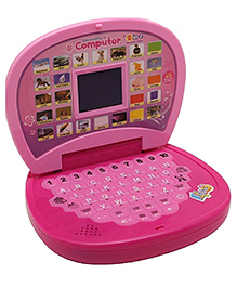 Zest 4 Toyz Educational Laptop With LED Screen - Pink