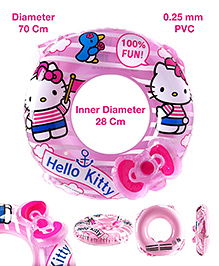 Hello Kitty Swimming Ring - Pink
