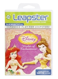 Leap Frog - Leapster Learning Game - Disney Princess World of Enchantment