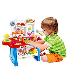 Toyshine Supermarket Shop With Sound Effects Multicolor - 34 Pieces