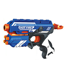 Toyshine Foam Blaster Gun Toy 10 Bullets - Multi Color