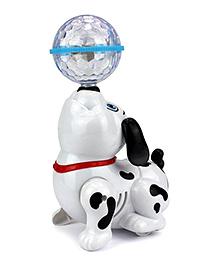 Toyshine Dancing Dog With Music Flashing Lights - Multi Color