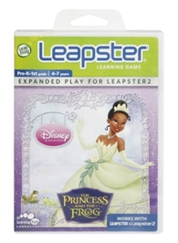 Leap Frog - Leapster Learning Game - Disney The Princess And The Frog