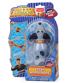 Funskool Mini Stretch Toy Puppy Shape Blue - 17 Cm
