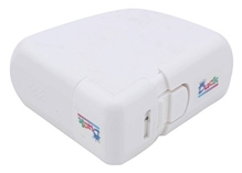 Duck Dustbin And Commode Lid Guard - White