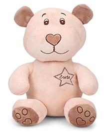 Starwalk Teddy Bear Soft Toy Peach - 30 Cm
