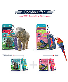 Redchimpz Wild Animals Birds Augmented Reality Based DIY Activity Kit For Kindergarteners