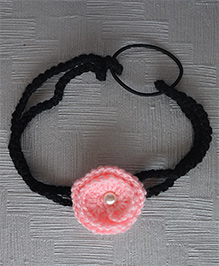 Daffodils Headband With Pearl - Pink