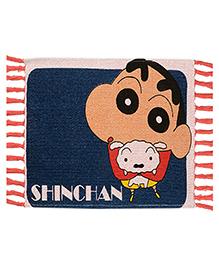 Saral Home Shinchan Theme Rug - Navy
