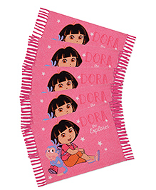 Saral Home Dora Theme Rugs Combo Of 5 - Pink