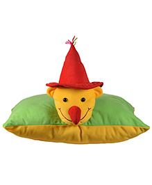 Ultra Folding Clown Cushion - Yellow & Green