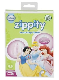 Leap Frog Zippity Learning Game Disney Princess