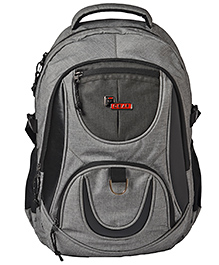 F Gear Axe Melange Casual Backpack With Laptop Compartment Grey - 17 Inches