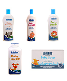 Babuline Baby Care Winter Gift Pack Of 7 - Multicolour