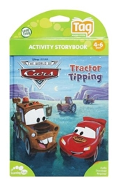 Leap Frog - Activity Storybook - Disney The World Of Cars - Tractor Tipping