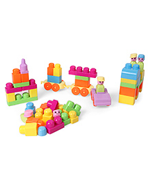 Dr.Toy Block Playset Multicolour - 50 Pieces