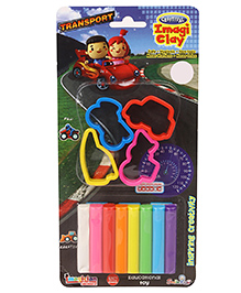 Imagician Playthings Craftival Clay Moulds Vehicles (Color And Design May Vary) - 2100165