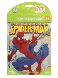 Leap Frog - Activity Storybook - The Amazing Spider-Man - The Lizards Tale