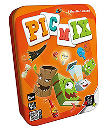 Gigamic Picmix Card Game - Multicolour