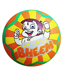 Emob Cartoon Character Printed Basket Ball - Multi Color (Color May Vary)