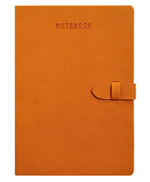 Lock Master Craft A5 Size Notebook Orange  - 224 Pages
