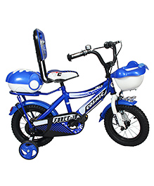 Cosmic Force Kids Bicycle Royal Blue - 12 Inches