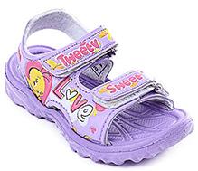 Tweety - Front Open Velcro Strap Sandal