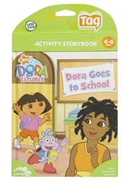 Leap Frog - Activity Storybook - Dora Goes To School