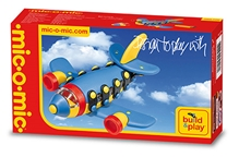 Mic -o-Mic - Small Jet Plane Construction Toy