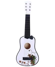 Fab N Funky - Flower Design Printed Kids Guitar