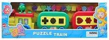 Fab N Funky - Musical Puzzle Train Set