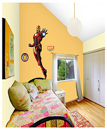 Asian Paints Avengers Iron Man Wall Sticker - Red