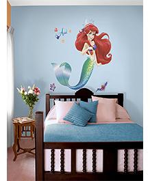 Asian Paints The Little Mermaid Wall Sticker - Green Blue