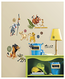 Asian Paints Wall Ons The Lion King Wall Sticker - Multi Color