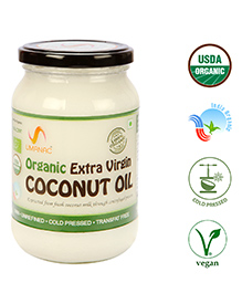 Umanac Organic Raw Extra Virgin Coconut Oil - 500 Ml