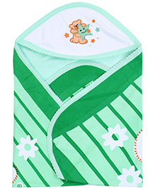 Tinycare Superior Baby Towel - Green