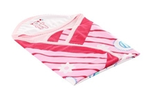 Tinycare Superior Baby Towel - Pink