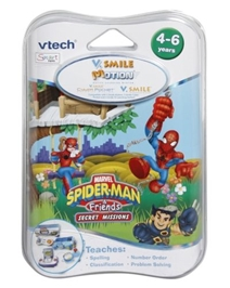 Vtech® V.Smile Motion® Spider-man and Friends Secret Missions Software