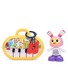 Fisher Price 2 In 1 Battery Operated Musical Toy - Multi Colour