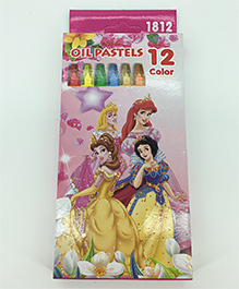 Funcart Disney Princess Oil Pastels Set - 12 Crayons
