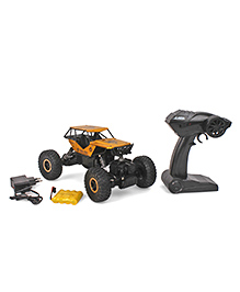 Smiles Creation Remote Controlled Rock Crawler 4 WD Rally Sar Toy Car - Yellow