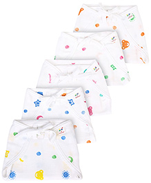 Tinycare Baby Cloth Nappy Small Set of 5