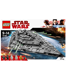 Lego Star Wars First Order Star Destroyer Building Set - 1416 Pieces