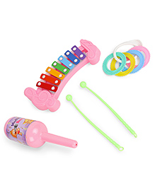 Ratnas Musical Masti Baby Loving Rattle Set (Color And Print May Vary) - 2128109
