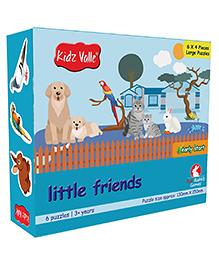 Kidz Valle Little Friends Puzzle For Kids - Multicolour