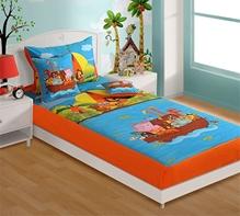 Swayam - Animal Print Baby Bed Sheet