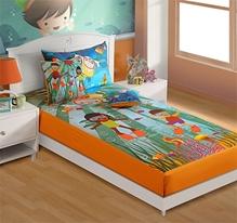Swayam - Scuba Diving Print Baby Bed Sheet